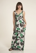 Sweetees Carlynn Maxi Dress in Green