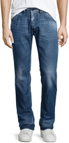Diesel Belther Faded Tapered Jeans, Denim L32