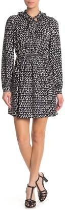 Kate Spade Pop Scallop Crepe Dress