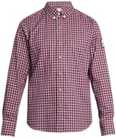 Moncler Gamme Bleu Long-sleeved checked cotton shirt