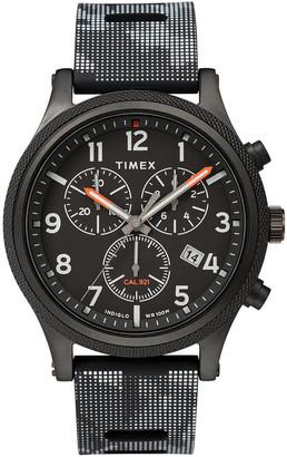 Timex Allied LT Chronograph 42mm Silicone Strap Watch