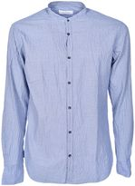 Aglini Band Collar Shirt