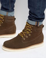 Bellfield Noma Nubuck Laceup Boots