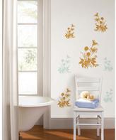 Living 19.7 in. x 27.6 in. Wiesenblumen Wall Decal