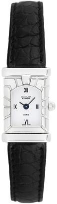 Van Cleef & Arpels 1980S Women's Facade Watch