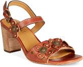 Patricia Nash Leona Block-Heel Sandals