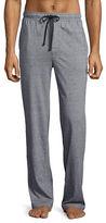 Black Brown 1826 Stripe Knit Jersey Lounge Pants