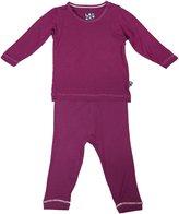 Kickee Pants Long Sleeve Pajama Set - Lotus-3-6 M