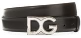 Dolce & Gabbana Five-Notch Leather Belt