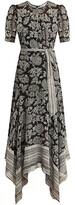 Thumbnail for your product : Veronica Beard Smita Batik Floral Maxi Dress