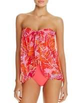 Ralph Lauren Womens Tropical-Print One Piece Swimsuit