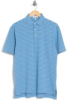 Peter Millar All the Way Donegal Stripe Polo