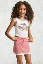 Forever 21 Girls Corduroy Skirt (Kids)