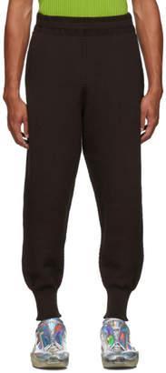 Issey Miyake Homme Plisse Brown Rustic Lounge Pants