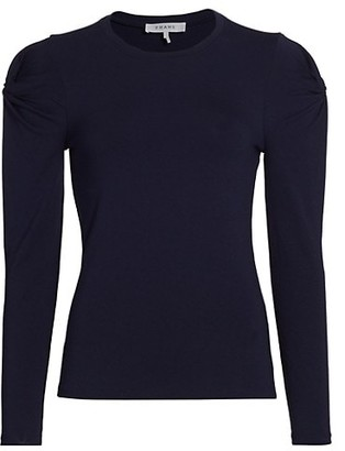 Frame Twisted Long-Sleeve Top