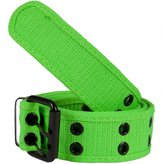 Old Glory Neon Web Double Grommet Belt -/Medium