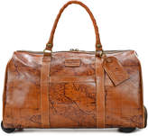 Patricia Nash Signature Map Avola Extra-Large Trolley Duffle Bag