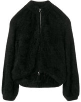 Tom Ford fur zipped coat