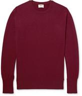 William Lockie - Oxton Slim-fit Cashmere Sweater - Burgundy