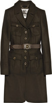 Burberry Belted wool military coat