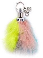 Sophie Hulme 'Willow' turkey feather keyring