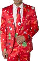 Noroze Mens Slim Fit Fancy Dress Novelty Christmas Suit Costume (M, )