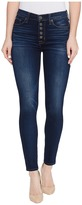 Hudson Ciara High-Rise Ankle Super Skinny Buttonfly Five-Pocket Jeans in Charmed Women's Jeans