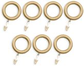 Bed Bath & Beyond Revel Resin Clip Rings in Gold