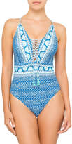 Sunseeker Budapest Lace Up One Piece