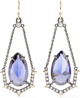Alexis Bittar Gold-plated crystal earring
