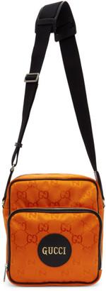 Gucci Orange Off The Grid Messenger Bag