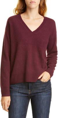 Nordstrom Signature V-Neck Cashmere Pullover