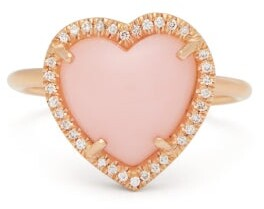 Irene Neuwirth Love Diamond, Opal And 18kt Rose-gold Ring - Womens - Rose Gold