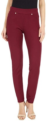 MICHAEL Michael Kors Pull-On Leggings (Dark Ruby) Women's Casual Pants