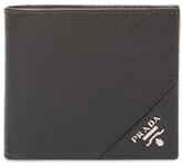 Prada Textured Leather Bifold Wallet