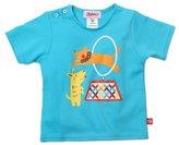 Zutano Unisex-baby Infant Hoop Jump Screen Shorts Sleeve T-Shirt