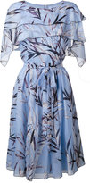 Blumarine floral print dress - women - Silk/Spandex/Elastane - 42