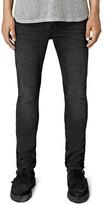 AllSaints Dubh Cigarette Slim Fit Jeans in Black