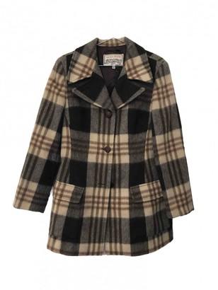 Krizia Multicolour Wool Coat for Women