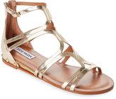 Steve Madden Gold Delta Demi-Wedge Gladiator Sandals