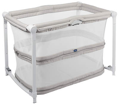 Chicco Zip & Go Travel Crib, Grey