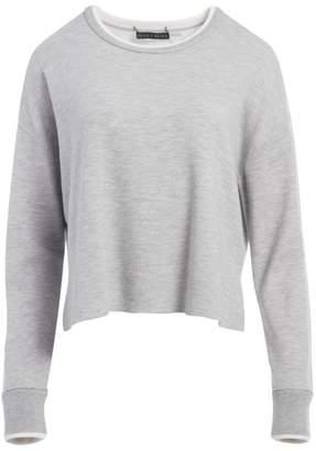 Alice + Olivia Rickie Reversible Crop Sweatshirt
