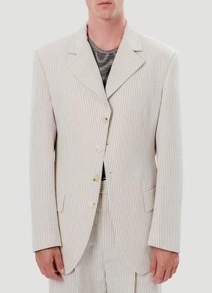 Eckhaus Latta Sun Striped Blazer