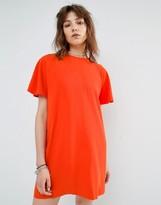 MANGO Shift Dress With Back Opening