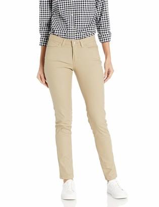 Dickies Women's 5-Pocket Slim Skinny Stretch Twill Pant