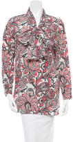 Stella McCartney Silk Printed Top