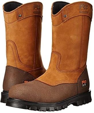 Timberland Rigmaster Pull-On Steel Toe Waterproof (Wheat Bandit) Men's Waterproof Boots