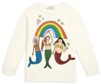 Stella McCartney Mermaids and Rainbow Sweater
