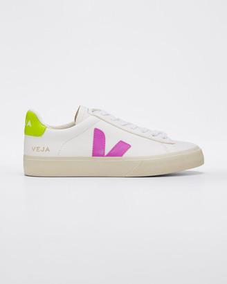 Veja Jaune Fluo Flat Sneakers