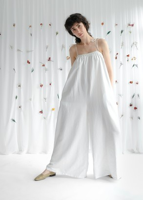 OhSevenDays - Cloud Jumpsuit Pearl - ONE